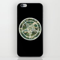 pentagram iPhone & iPod Skins featuring Pentagram Camo by Parin Cashmony