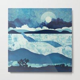Blue Desert Metal Print