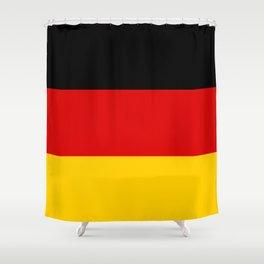 German Flag - Flag of Germany Shower Curtain