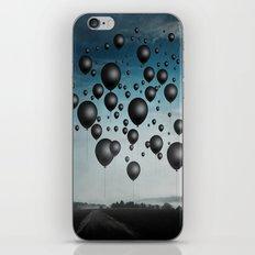 In Limbo - black balloons iPhone & iPod Skin