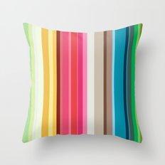 Rainbow Colors! Throw Pillow
