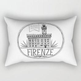Palazzo Vecchio, Firenze Rectangular Pillow