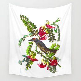 Piping Flycatcher Bird Wall Tapestry