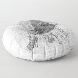 Mystery. Floor Pillow