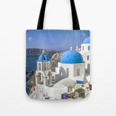 Santorini, Oia Vilage, Greece Tote Bag