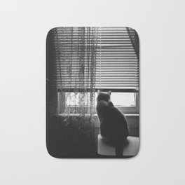Window cat Bath Mat