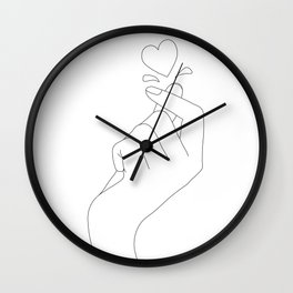 Love Snap Wall Clock