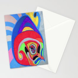 Peng-Compass  2 Stationery Cards
