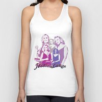 jessica lange Tank Tops featuring Jessica Lange - Emmys 2014 by BeeJL