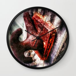 Neglected  Wall Clock