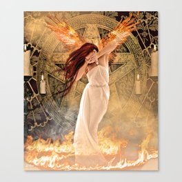 FALSELY ACCUSED Canvas Print