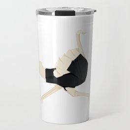 Origami Ostrich Travel Mug