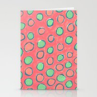 polka dot Stationery Cards featuring polka dot by Jenni Freidman