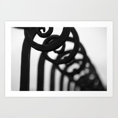 Gorgeous Gate Art Print