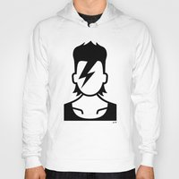 bowie Hoodies featuring Bowie  by triangle.cross