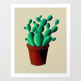 Cactus Pot Art Print