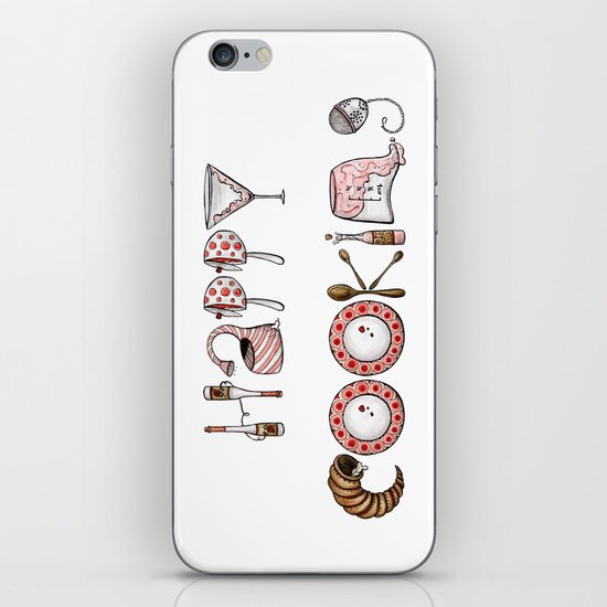 Happy Cooking iPhone & iPod Skin
