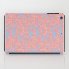 Trailing Curls // Pink & Blue Pastels iPad Case