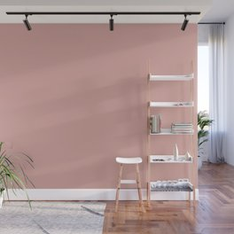 Mellow Rose | Pantone Fashion Color | Autumn : Winter 2018 | London | Solid Color Wall Mural