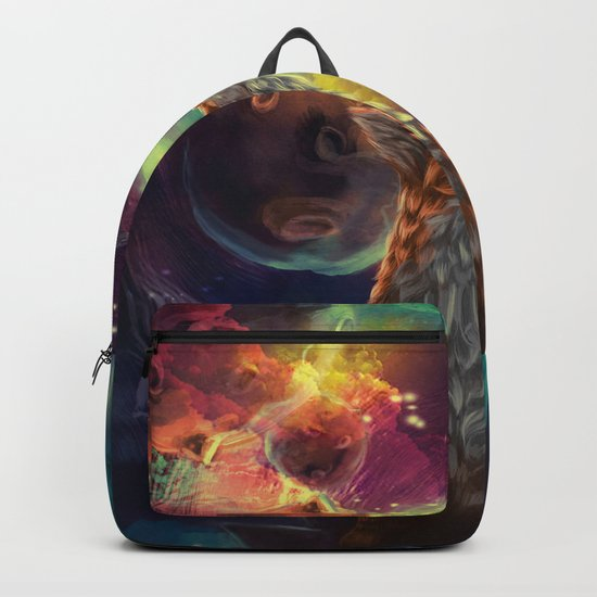 The Fox on the Planets Backpack