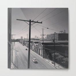 LA street Metal Print