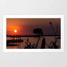 Botswana Art Print