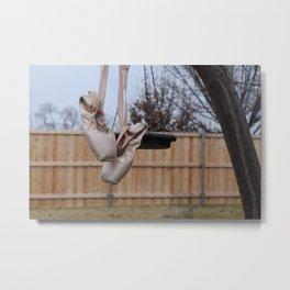 Snowy Pointe Metal Print