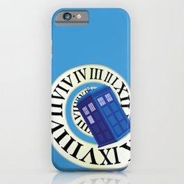 TARDIS in Time iPhone Case