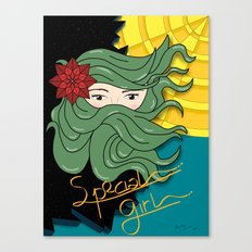 SPECIAL GIRL Canvas Print