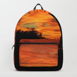 Dark Country Sunset Backpack