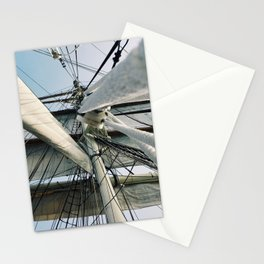 Ship Sails Stationery Cards