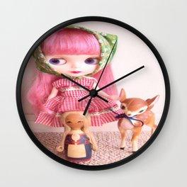 Barvarian Cutie Wall Clock