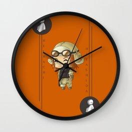 Chibi Heihachi Wall Clock