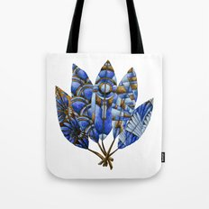 Gatsby Five Feathers Tote Bag