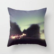 Autoban Throw Pillow