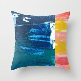 Desert Abstraction Throw Pillow