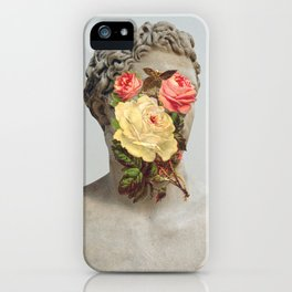 Bust With Flowers iPhone Case