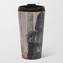 Darth Vader at home  Travel Mug