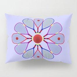 Racquetball Design Pillow Sham