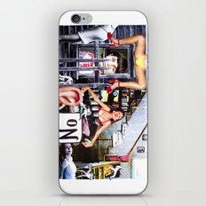 Whatcha Want Done? iPhone & iPod Skin