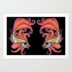 just a fish(es) Art Print