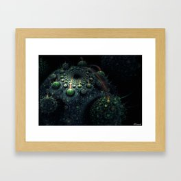 Corals of the Dark Water Framed Art Print
