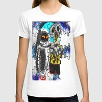 wall e T-shirts featuring Puzzle me Wall-e  by grapeloverarts