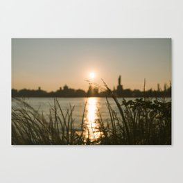 Sunset in Brooklyn Canvas Print