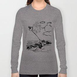 Flying heart Long Sleeve T-shirt