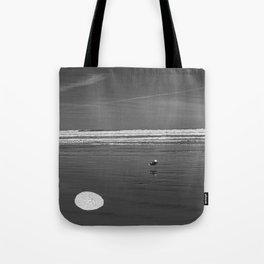 Pacific Ocean Sand Dollar Tote Bag