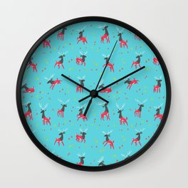 Into the Trees Wall Clock
