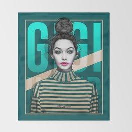 Gigi Hadid Throw Blanket