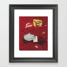 SF Framed Art Print
