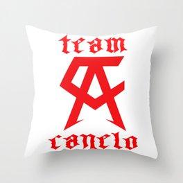 Saul Canelo Alvarezh Boxing Throw Pillow